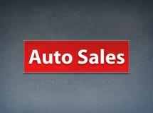 汽车销售红色横幅摘要背景 库存例证