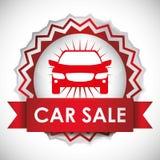 汽车销售设计 免版税库存图片