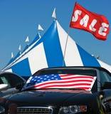 汽车销售额 库存图片