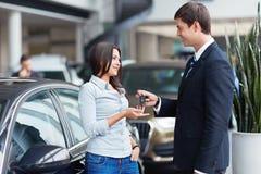 汽车销售额 免版税库存图片