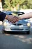 汽车销售额 免版税库存照片