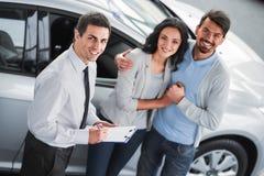 汽车销售 库存照片