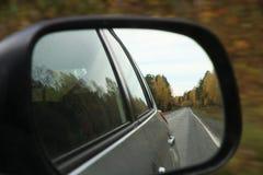 汽车镜子 图库摄影
