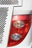 汽车闪亮指示和刹车灯 库存照片