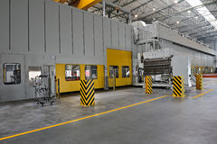 汽车零件工厂 免版税图库摄影