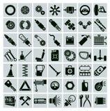 汽车零件、工具和辅助部件 库存图片