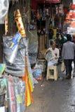 汽车零件在加尔各答存放 免版税库存图片