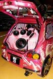 汽车音乐系统xtreme 免版税库存图片
