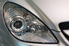 汽车顶头闪亮指示 免版税图库摄影