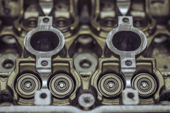 汽车马达发动机零件 库存图片