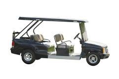 汽车高尔夫球为服务 免版税库存照片