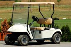 汽车高尔夫球 库存照片