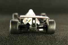 汽车高赛跑的速度 免版税库存照片