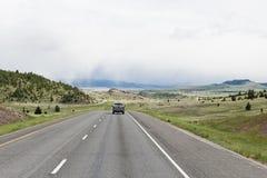 汽车高速公路旅行 免版税库存图片