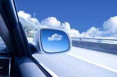汽车高速 免版税图库摄影