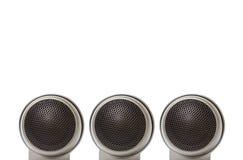 汽车高音扬声器报告人音频 免版税库存照片