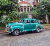汽车经典之作古巴 库存图片