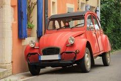 汽车经典剪报法语包括查出的路径白色 免版税库存图片