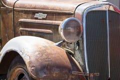 汽车经典末端前面 库存图片