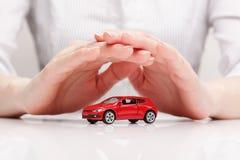 汽车(概念)的保护 免版税库存照片