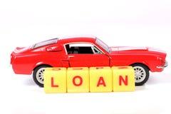 汽车贷款 图库摄影