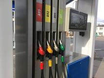 汽车结转您的加油站 库存照片