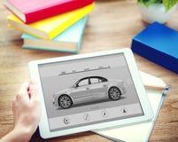 汽车Automoblie运输车高雅概念 免版税图库摄影