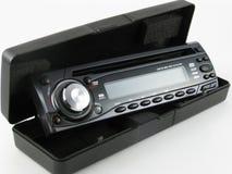 汽车cd收音机 免版税库存照片