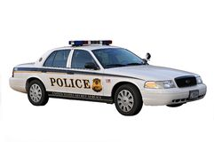 汽车dc警察华盛顿 库存照片