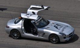 汽车f1安全性 库存图片