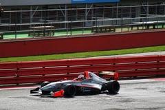 汽车f3赛跑的renault 库存照片