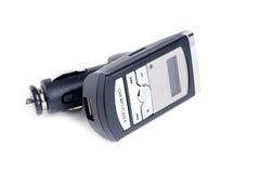 汽车fm调制器MP3播放器 免版税库存照片