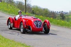 汽车Healey希尔弗斯通从1950年的Typ E 库存照片