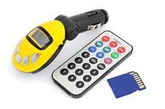 汽车MP3播放器 免版税库存图片