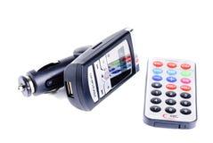 汽车MP3播放器 图库摄影