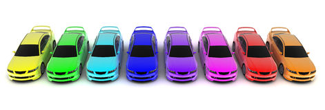 汽车polette 向量例证