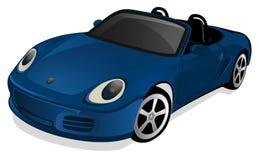汽车Sportscar 皇族释放例证