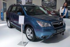 汽车Subaru林务员 免版税库存照片