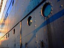 汽轮船身 免版税图库摄影