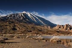 沃尔坎火山泰德峰 免版税库存图片
