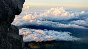 沃尔坎火山视图 免版税库存图片