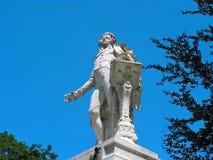 沃尔夫冈・阿马德乌・莫扎特,雕塑,维也纳 库存图片
