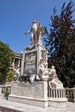 沃尔夫冈・阿马德乌・莫扎特的纪念碑。维也纳,奥地利 免版税库存图片