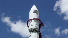 沃斯托克火箭的上面 股票视频