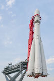 沃斯托克火箭飞行器 免版税库存图片