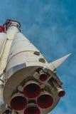 沃斯托克火箭 库存照片