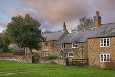 沃明顿村庄,沃里克郡,英国 免版税库存照片
