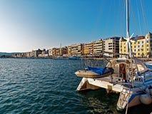 沃洛斯江边,希腊 免版税图库摄影