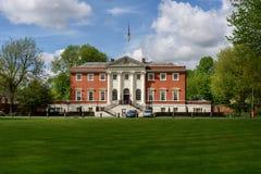 沃灵顿城镇厅-英国 图库摄影