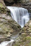 沃特金斯幽谷瀑布 库存照片